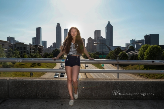 Paula Gallego Senior Photography